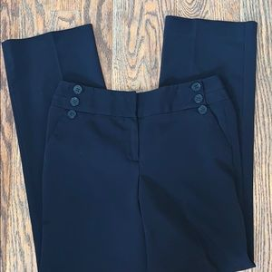 SHARAGANO black straight leg trousers 6